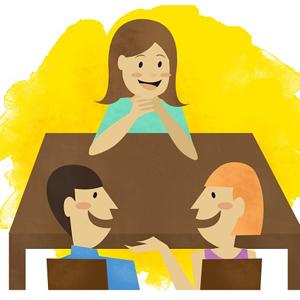 Spotkanie z rodzicami semestralne konsultacje z lektorami, szkoła językowa opole