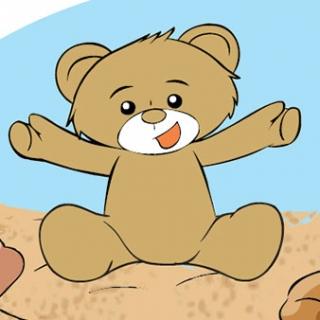 Teddy Eddie on holiday wakacje-z-jezykiem-angielskim